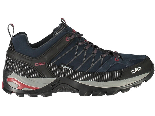 CMP Campagnolo Rigel WP Low Trekking Shoes Men asphalt-syrah